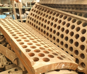 细缝高锰钢漏板